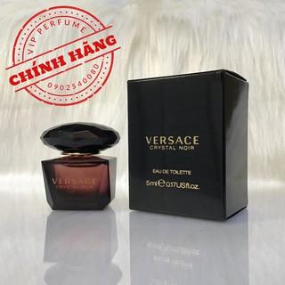 Nước hoa nữ chính hãng Versace Crystal Noir EDT 5ml thumbnail