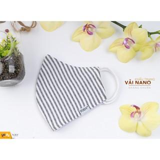 Khẩu trang vải Yody combo 5 chiếc công nghệ nano ion bạc thumbnail