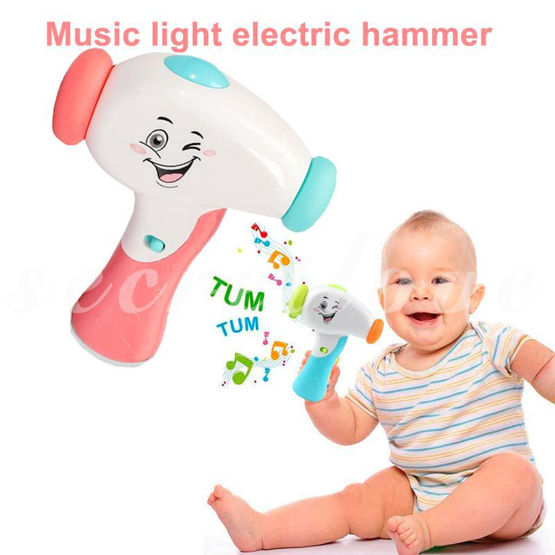 [COD] White Story Machine Hammer Music Toy Hobby Cool Study