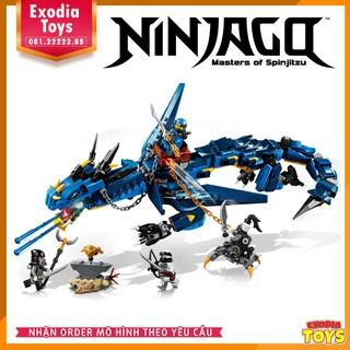 Bộ lắp ráp rồng sâm sét Stormbringer Ninjago – Dragon Stormbringer Ninjago | LEPIN 06080 – Lego Ideas 70653