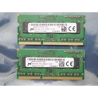 RAM laptop 4GB DDR3L, DDR3, 8GB DDR3L tháo máy cực mới