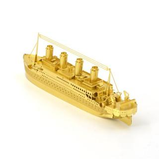 Mô hình tàu Titanic 3D lắp ráp bằng kim loại độc đáo thumbnail