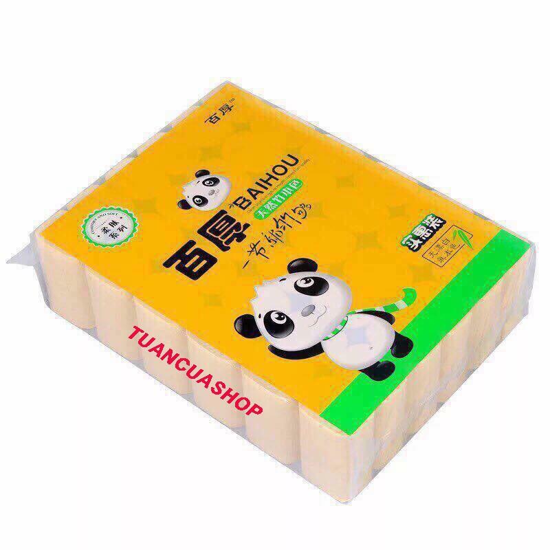 Combo 2 Bịch giấy ăn gấu trúc 30 cuộn giá tốt