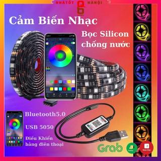 Đèn led tiktok 5M mix đổi màu RGB Quay video cuốn hút Triệu view Đèn trang trí phòng ngủ bàn làm việc