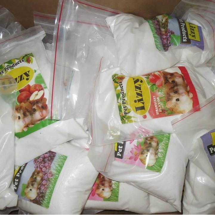 Cát tắm cho Hamster,Rat,Chuột nhảy(1 bịch 1kg)m