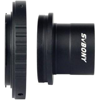 Ngàm T SVBONY 1.25 inches và vòng chuyển đổi T bằng kim loại phù hợp cho ống kính Nikon tiêu chuẩn và kính thiên văn