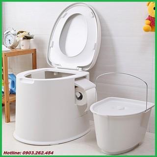 Bồn cầu di động – Toilet di động thích hợp cho người già, người bệnh, rất tiện dụng