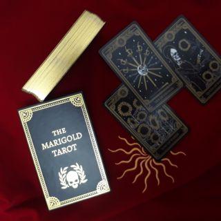 The Marigold Tarot phiên bản mạ vàng