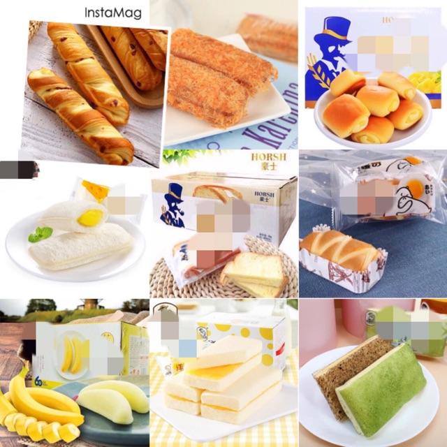 [Mã 159FMCGSALE giảm 8% đơn 500K] [TPHCM] Bánh Đài Loan mix các loại bánh