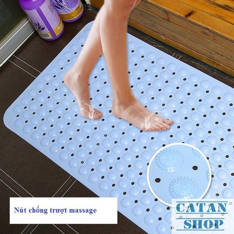 Miếng lót chân, thảm nhà tắm, nhà vệ sinh, thảm chống trơn trượt an toàn GD06-TNT