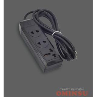 Ổ cắm điện có dây Ominsu 1 cửa đa năng 2 cửa đơn 3A3 2000w