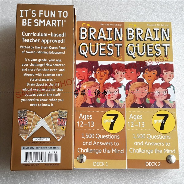 Bộ Thẻ học Brain Quest cho trẻ từ 12-13 tuổi - 2603582 , 740906938 , 322_740906938 , 250000 , Bo-The-hoc-Brain-Quest-cho-tre-tu-12-13-tuoi-322_740906938 , shopee.vn , Bộ Thẻ học Brain Quest cho trẻ từ 12-13 tuổi