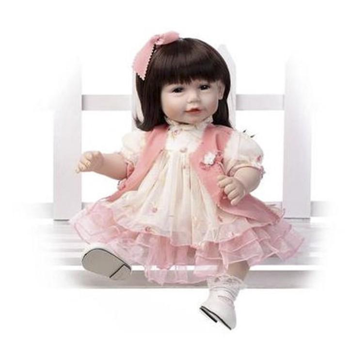 Búp bê Mỹ Rapunzel -Áo hồng tóc ngắn 50cm- Semi soft vinyl fashion American Girl Doll NPK 20 inch - 3477117 , 1192511148 , 322_1192511148 , 1499999 , Bup-be-My-Rapunzel-Ao-hong-toc-ngan-50cm-Semi-soft-vinyl-fashion-American-Girl-Doll-NPK-20-inch-322_1192511148 , shopee.vn , Búp bê Mỹ Rapunzel -Áo hồng tóc ngắn 50cm- Semi soft vinyl fashion American