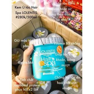 Ủ tóc Lolentis Hair SPA Leelawadee Nano 500 ml thumbnail