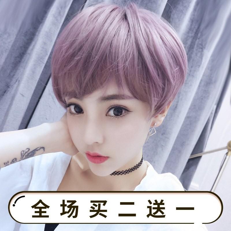 bộ tóc giả ngắn uốn xoăn thời trang - 14324777 , 2501844438 , 322_2501844438 , 989200 , bo-toc-gia-ngan-uon-xoan-thoi-trang-322_2501844438 , shopee.vn , bộ tóc giả ngắn uốn xoăn thời trang