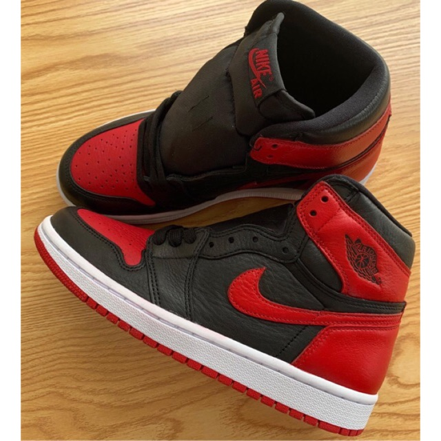 (40x3 40,5x4 42,5x1)Giày sneaker Air Jordan1 high bred banned The best jordan 1!