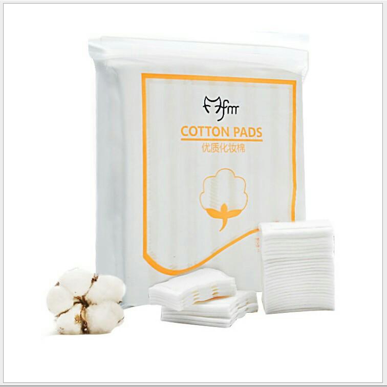 Bông tẩy trang 3 lớp cotton bịch 222 miếng