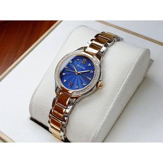 Đồng hồ nữ Bulova 98R223 xanh đại dương thumbnail