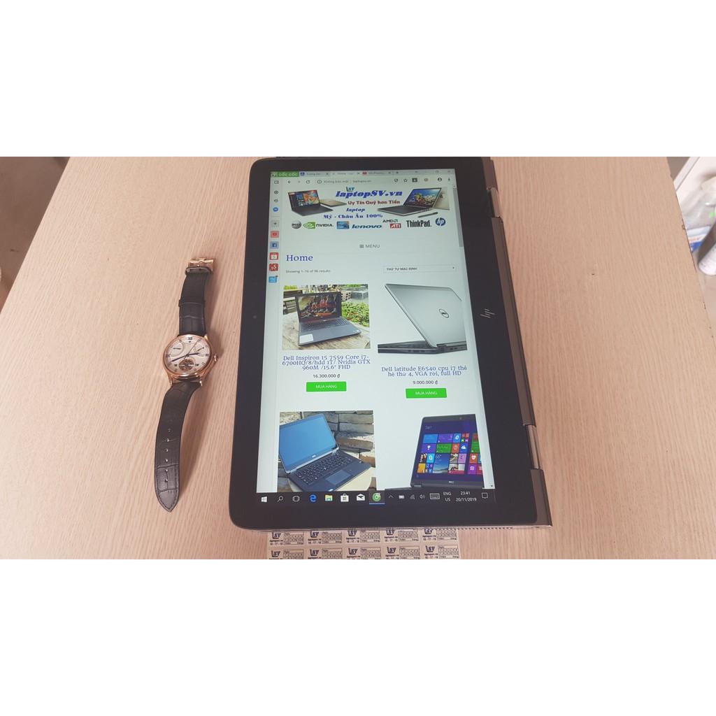 HP Envy X360 13 - 2-in-1 Core i7-7500U- Ram16GB-Ssd 256GB-Màn 3K Cảm ứng