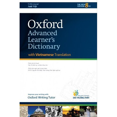 Từ điển ANH - ANH - VIỆT / Oxford Advanced Learner's Dictionary With Vietnamese Translation (Paperback)