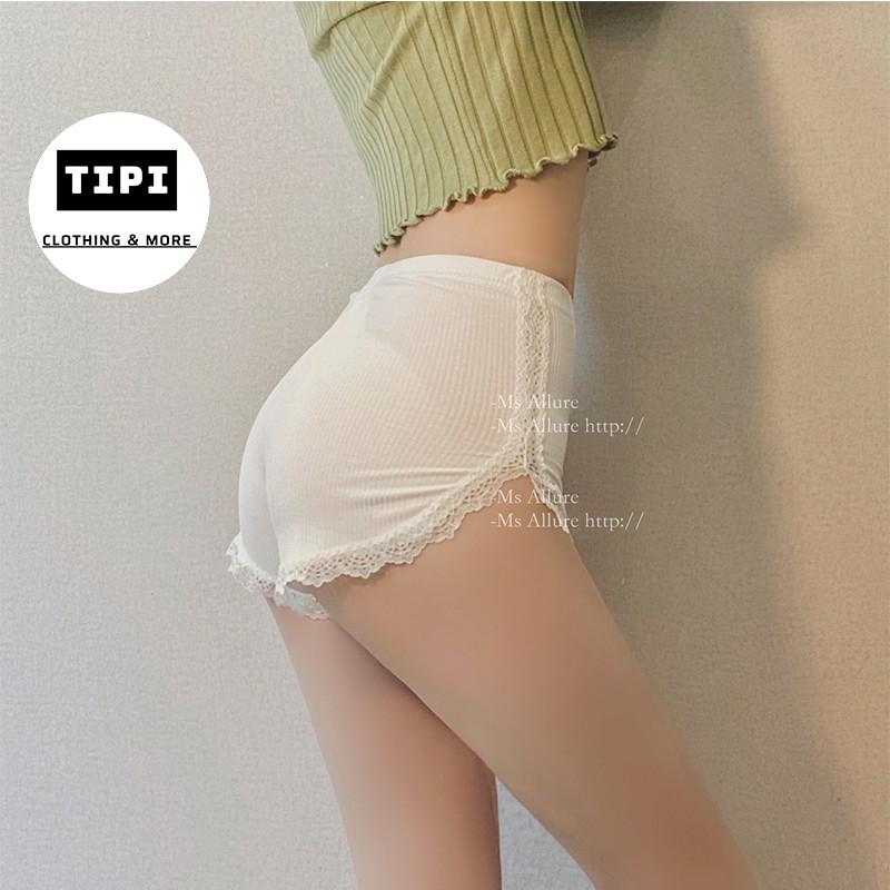 [Mã SKAMCLU7 giảm 10% tối đa 50K đơn 0Đ] Quần lót váy, quần ren ngủ mùa hè