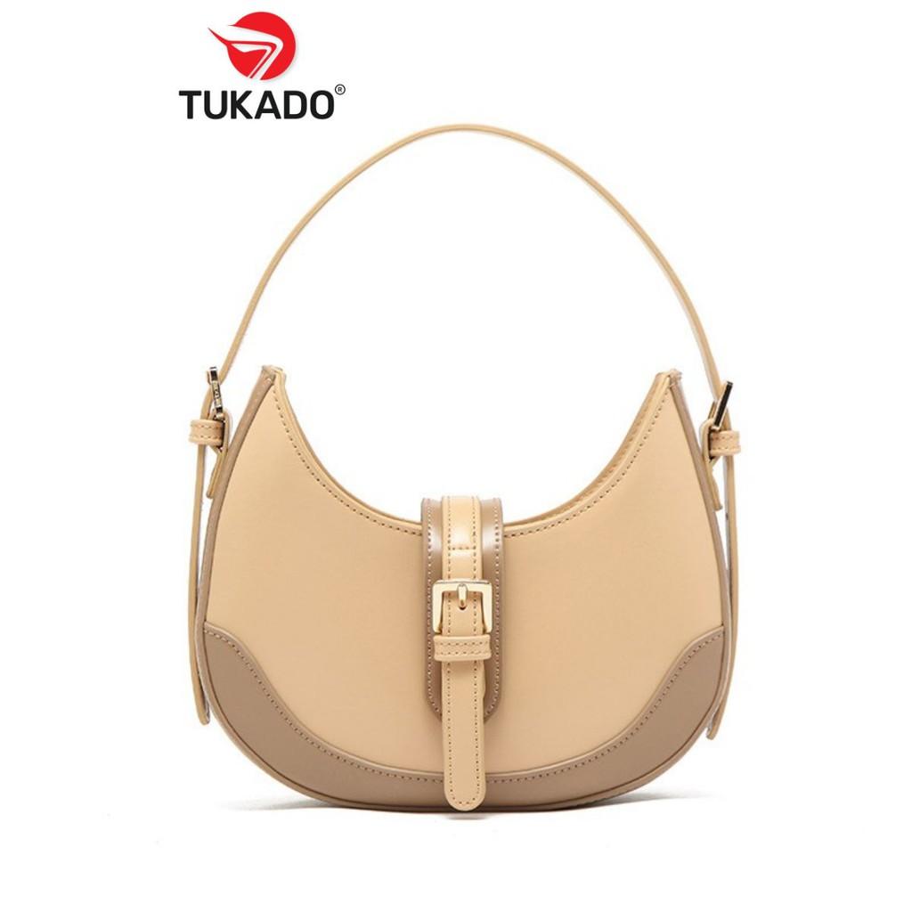 Túi Đeo Chéo Nữ Đeo Vai Thời Trang 𝐌𝐈𝐂𝐎𝐂𝐀𝐇 Dáng Bầu Phối Màu Vintage Cực Đẹp MC40 - Tukado