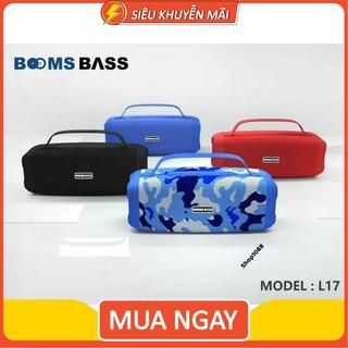 Loa Bluetooth Bombass L17 âm thanh Bass siêu ấm - Hỗ trợ thẻ nhớ,FM,audio 3.5mm hàng cao cấp thumbnail