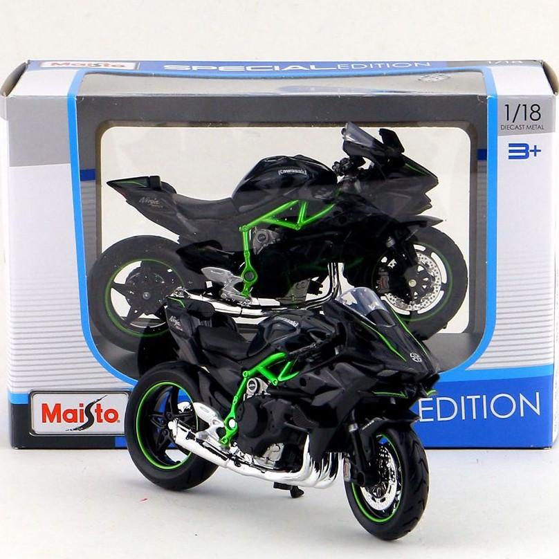Mô hình xe Kawasaki H2R | Mô Hình Xe Moto tỉ lệ 1:18
