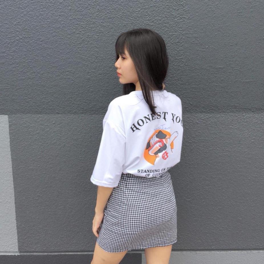 [HOT TREND] Áo Thun Unisex In Hình HONEST YOU Đủ Size - Áo Thun Tay Ngắn Cho Nam Nữ Đẹp Chất Cotton PE Cao Cấp