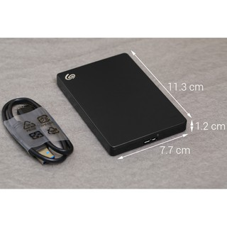 Ổ cứng di động giá rẻ  FREE SHIP  Ổ cứng mini Seagate 1TB Backup Plus Slim Portable dễ dàng sao lưu dữ liệu