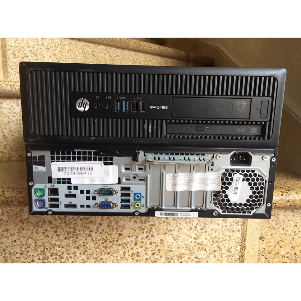 Cây máy tính để bàn HP 800g1, ram 4g, chip G3220