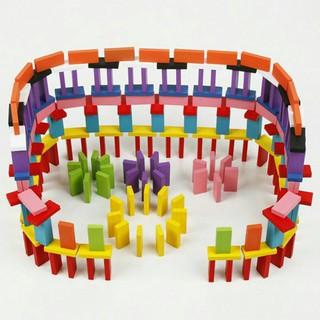 [ HOT DEAL ] Đồ chơi Domino màu 120 chi tiết cho bé