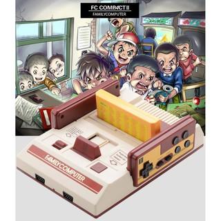 [FREE SHIP => 50K ] Máy Game FC Compact Có 500 trò trong máy không trùng + Băng 132 trò