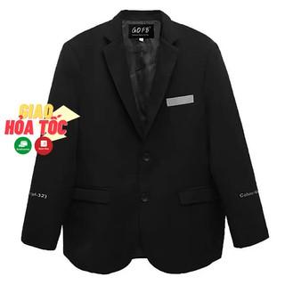 Áo blazer bigsize nam cổ vest