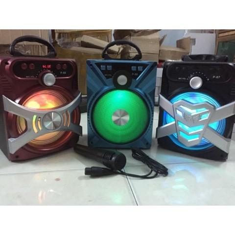 18x24 cm Loa bluetooth Karaoke xách tay P87, P88, P89 tặng kèm micro - 2988423 , 347656823 , 322_347656823 , 320000 , 18x24-cm-Loa-bluetooth-Karaoke-xach-tay-P87-P88-P89-tang-kem-micro-322_347656823 , shopee.vn , 18x24 cm Loa bluetooth Karaoke xách tay P87, P88, P89 tặng kèm micro