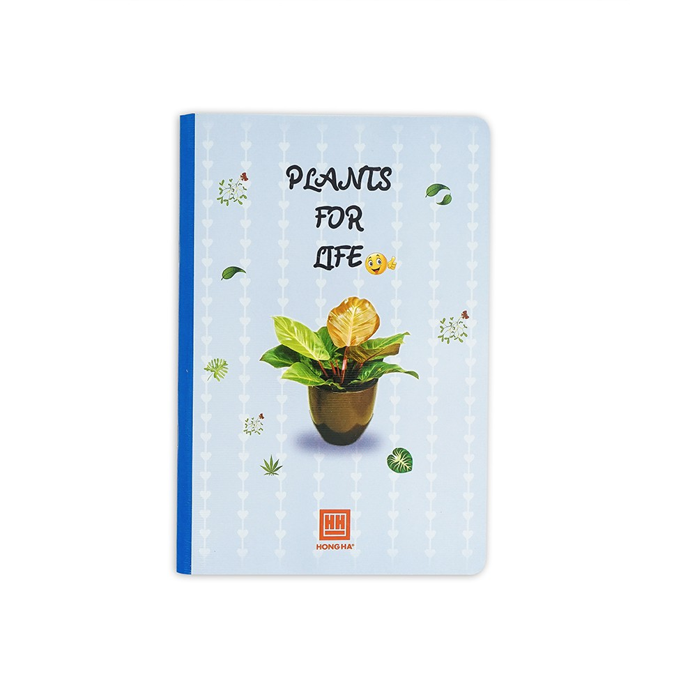 [NEW] Vở kẻ ngang Hồng Hà Plants 200 trang (1417)