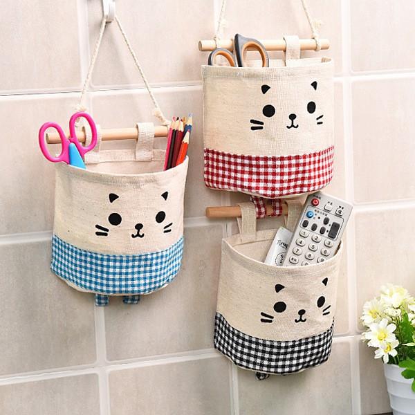 Túi treo tường hình mèo dễ thương