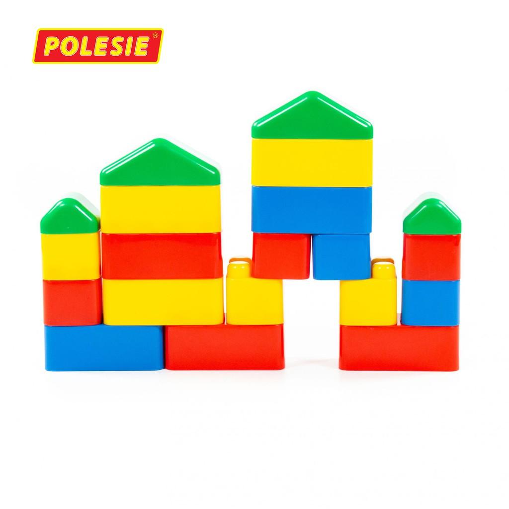 Bộ lắp ghép sáng tạo 20 chi tiết đồ chơi – Polesie