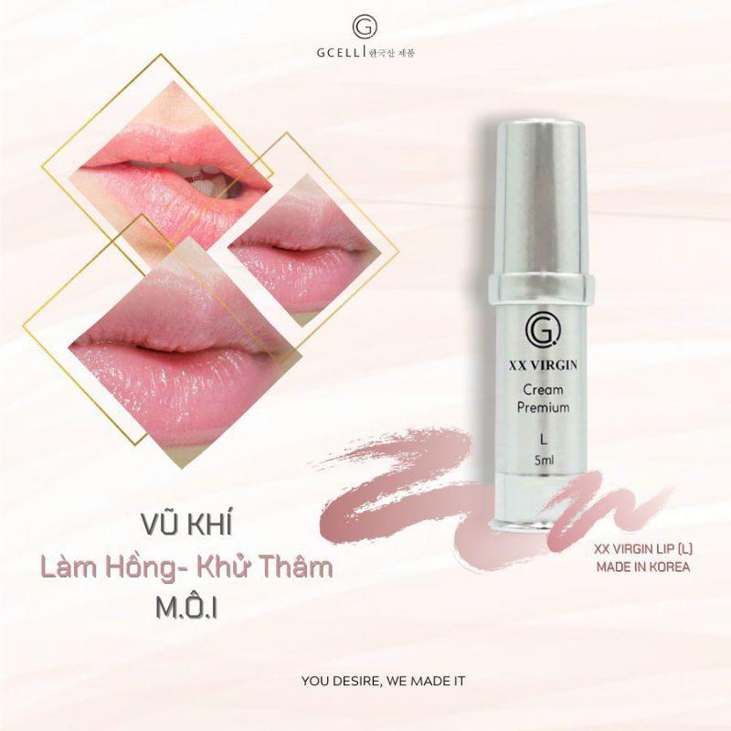 Kem Làm Hồng Môi Hàn Quốc GCell Xxvirgin Lip 5ml