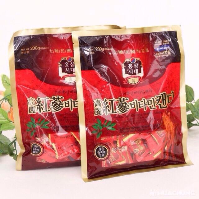 Combo 4 gói Kẹo sâm Hàn Quốc
