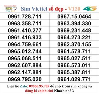 Sim Viettel V120 đầu 09 số đẹp giá rẻ 3