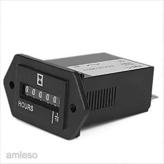 Đồng hồ đếm giờ màn hình 6 chữ số AC100-250V dành cho xe hơi/xe tải