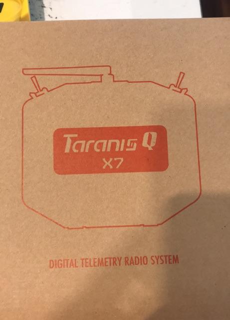 ĐIỀU KHIỂN TỪ XA TARANIS FRSKY X7.