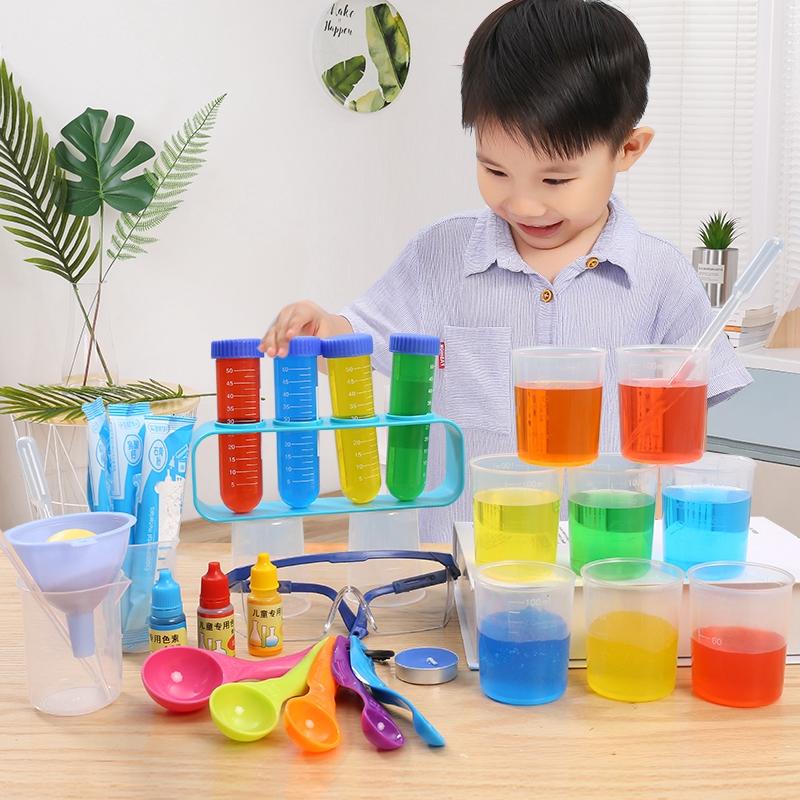 bộ đồ chơi thí nghiệm khoa học cho bé