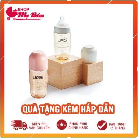 ✔️ ĐỦ SIZE✔️ Bình sữa UPIS Hàn Quốc 180ml/260ml chính hãng - Bình sữa cho trẻ sơ sinh PES  không BPA