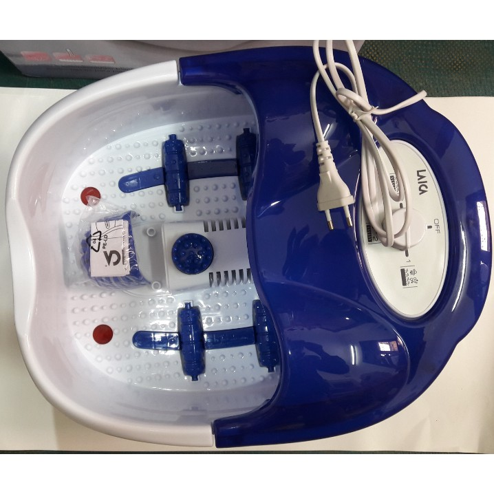 bồn ngâm chân massage tự động làm nóng Laica PC1031 YTALY - (Ý) - 3001889 , 738336930 , 322_738336930 , 850000 , bon-ngam-chan-massage-tu-dong-lam-nong-Laica-PC1031-YTALY-Y-322_738336930 , shopee.vn , bồn ngâm chân massage tự động làm nóng Laica PC1031 YTALY - (Ý)