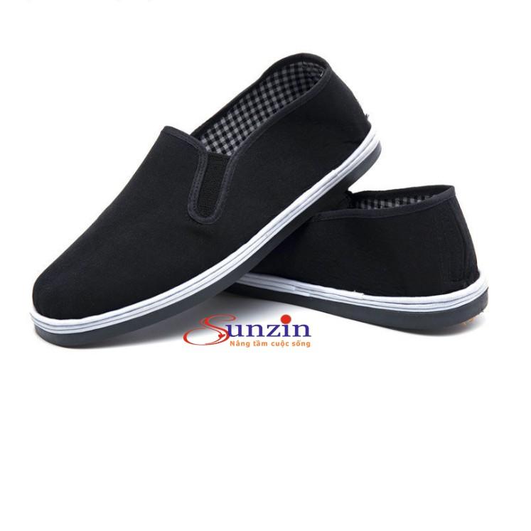 Giày lười vải đế cao su siêu bền dành cho cả nam và nữ (đủ size từ 35-45) - HV Store