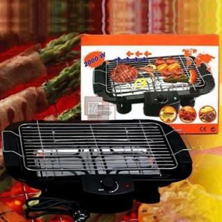 BẢO HÀNH 1 NĂMBếp Nướng Điện Cao Cấp Electric Barbecue Grill 2000W Không KhóiFREESHIP+Tặng Miếng Rửa Chén Bát