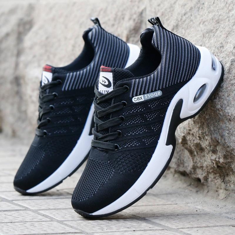 Giày sneaker nam - thể thao, chạy bộ, đi chơi - Giày vải, đế cao su cực bền - G89