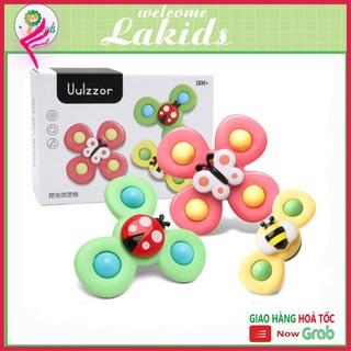 [Giảm giá thần tốc] Đồ chơi cho bé set 3 con quay spinner hình côn trùng vui nhộn cho bé Lakids thumbnail